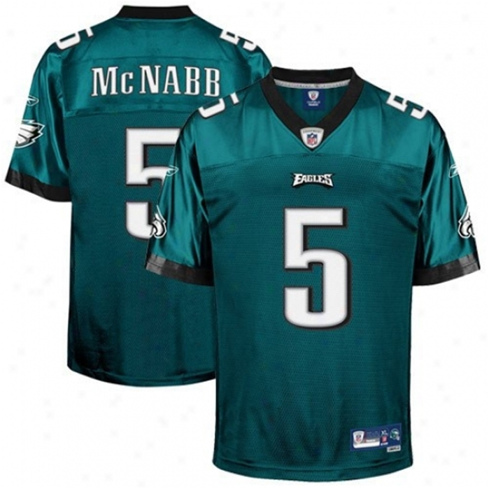 McNabb Eagles Throwback Authentic NFL Jersey