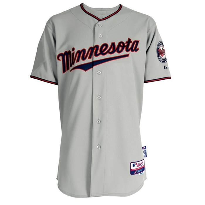 Minnesota Twins Authentic Road Jersey