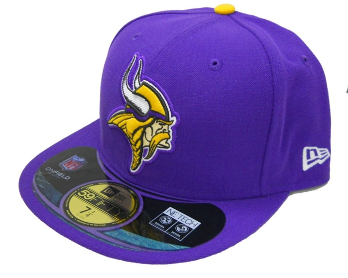 Minnesota Vikings NFL On-Field Cap