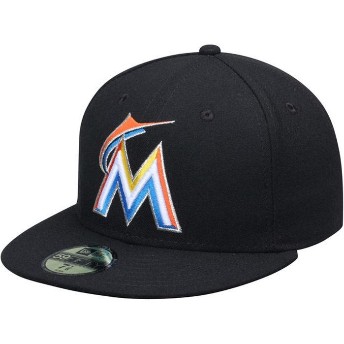 Miami Marlins Authentic 2012 Home 59FIFTY On-Field Cap