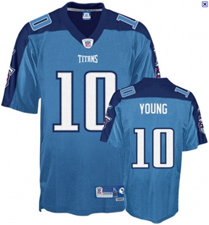 NFL Tennessee Titans #10 Vince Young Alternate Jersey