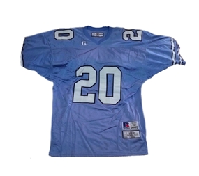 Natrone Means #20 North Carolina Collegiate Throwback Jersey