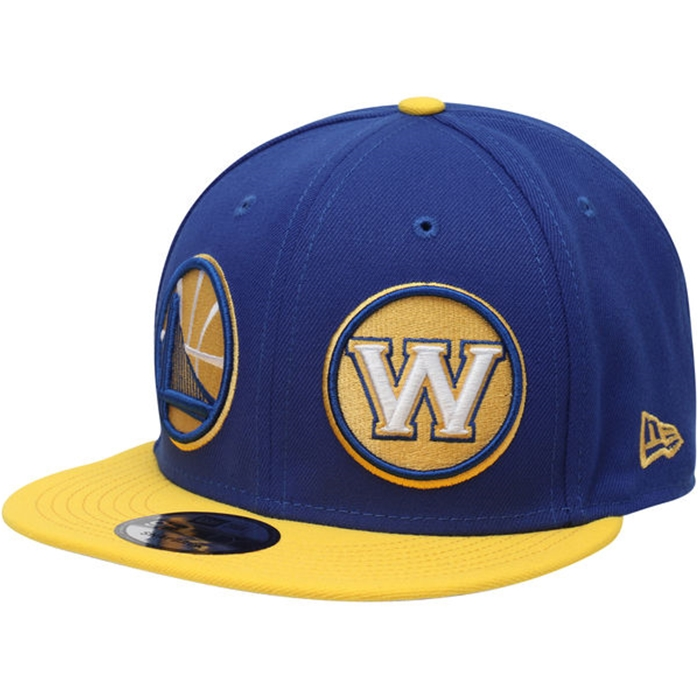 New Era Golden State Warriors Y2K Double Whammy 9fifty 2-Tone Cap