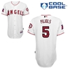 Albert Pujols 5 , Angels of Anaheim Authentic Home Jersey