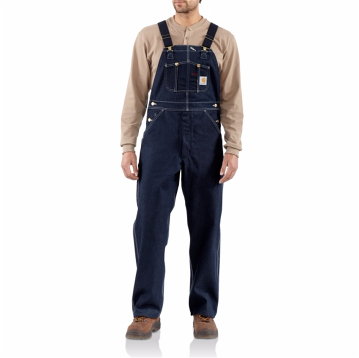 CARHARTT DENIM BIB OVERALL - UNLINED
