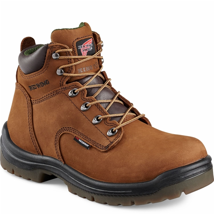 435 Men's King Toe Waterproof 6-inch Boot