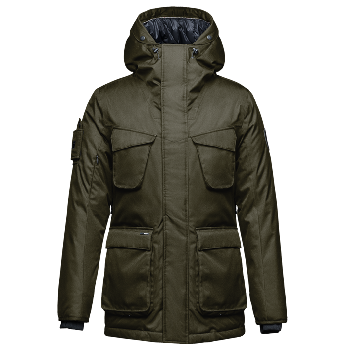 Nobis The Rosco Men's Midweight Long Parka
