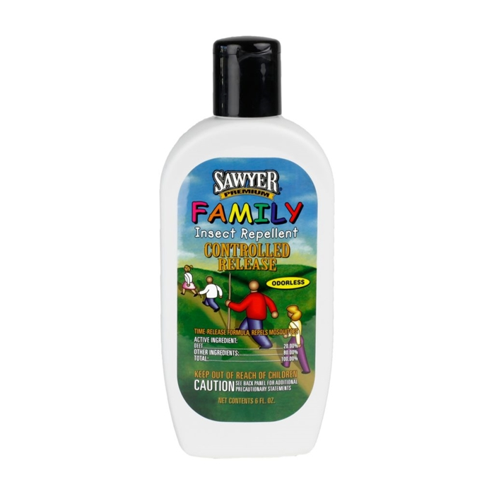 Controlled Release Family Insect Repellent 6oz Lotion