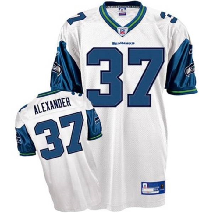 Alexander Seahawks Throwback Authentic NFL Jersey