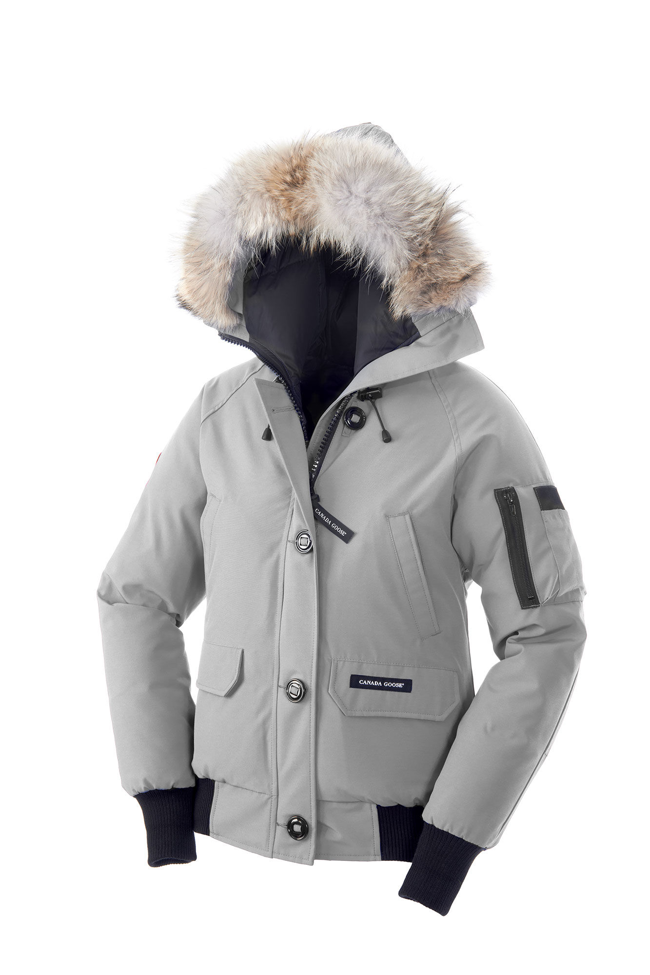 canada goose Bombers Silverbirch