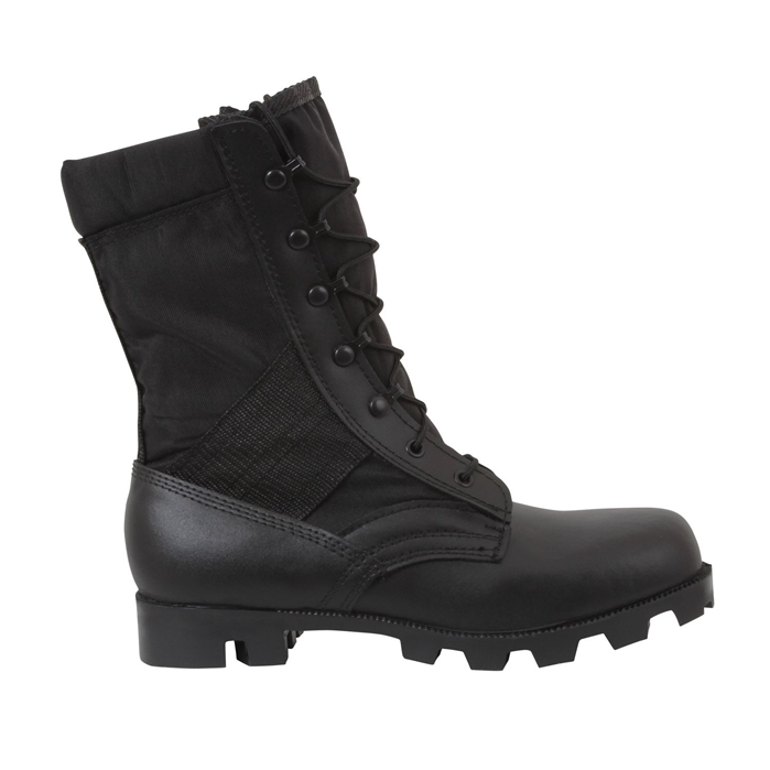 Black G.I. Type Speedlace Jungle Boot