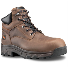 "Timberland PRO Men's Workstead 6"" Comp Toe Work Boot Brown"