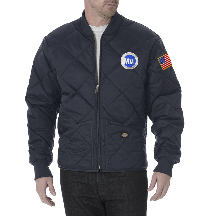 Dickies Metro-North Railroad Quilted Nylon Jacket