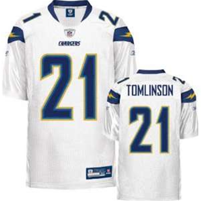 Tomlinson Chargers Throwback Authentic NFL Jersey