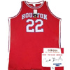 Authentic College Basketball Houston Cougars Clyde Drexler 22 Jersey - Red