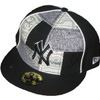 NY Yankees Black & Gray Hat