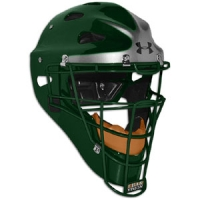Under Armour Pro Head Gear Dk. Green w/silver