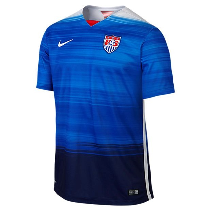 USA Away Men's Soccer Jersey 2015