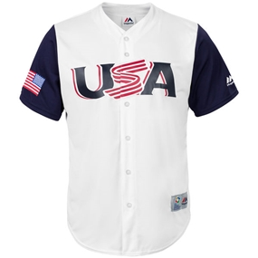 Majestic 2017 WBC USA Replica Team Jersey