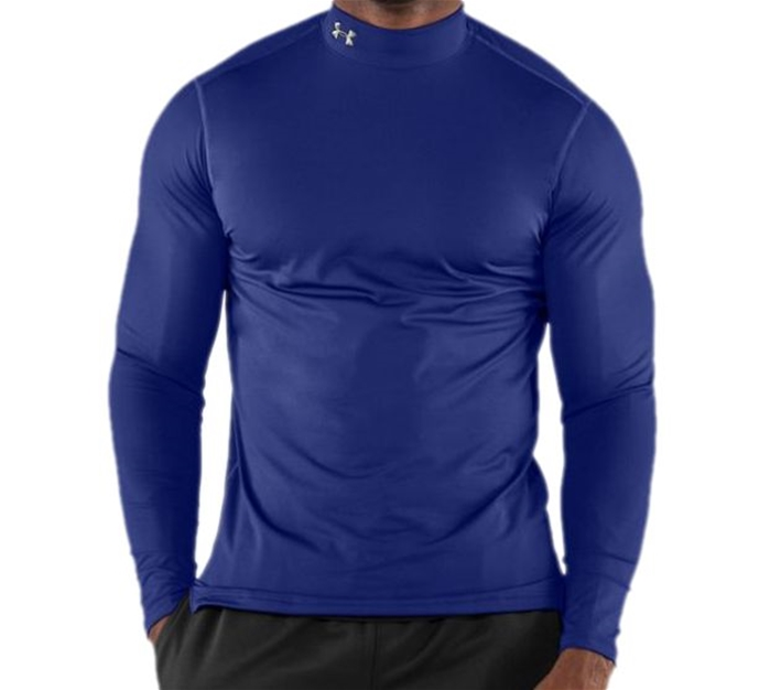 UA ColdGear® Royal Fitted Mock