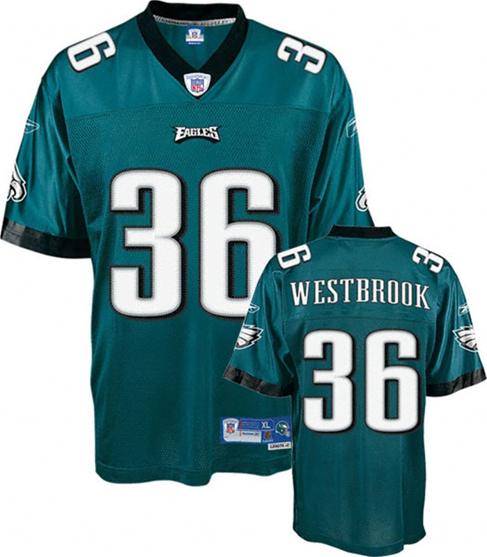 Westbrook Eagles Throwback Authentic NFL Jersey