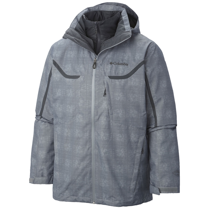 Whilrlibird Tradewinds Grey Interchange Jacket