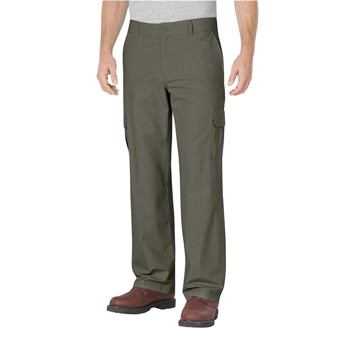 Dickies Relaxed Fit Straight Leg Ripstop Cargo Pant
