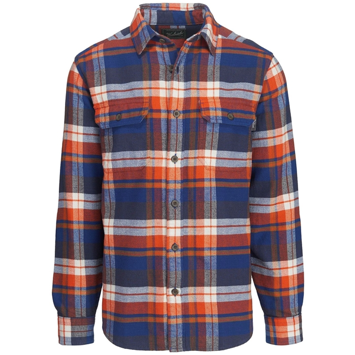 Oxbow Bend Plaid Flannel New Royal Blue Shirt