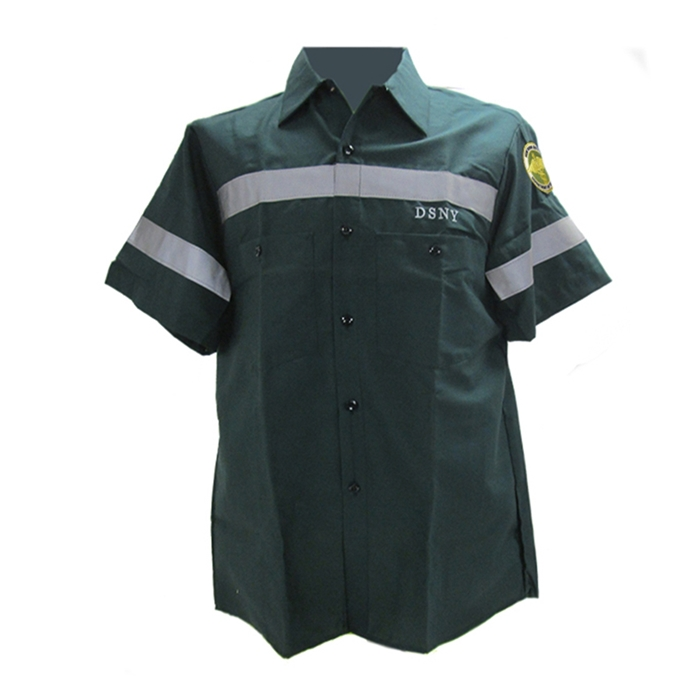 DSNY Sanitation Short Sleeve Work Shirt