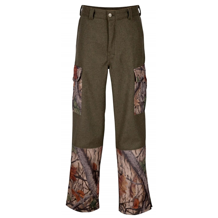 Big Bill Archery Wood N Trail Camo Merino Wool Camo Pant