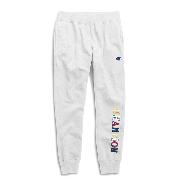 Champion Life Men's Reverse Weave Joggers, Old English
