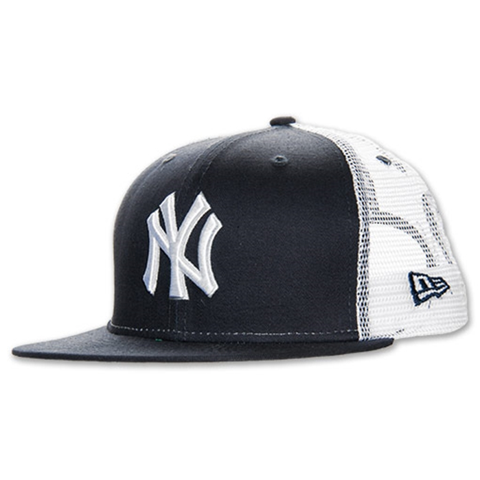 New Era New York Yankees Big Mesh Fitted 7b3e8e09bfd8