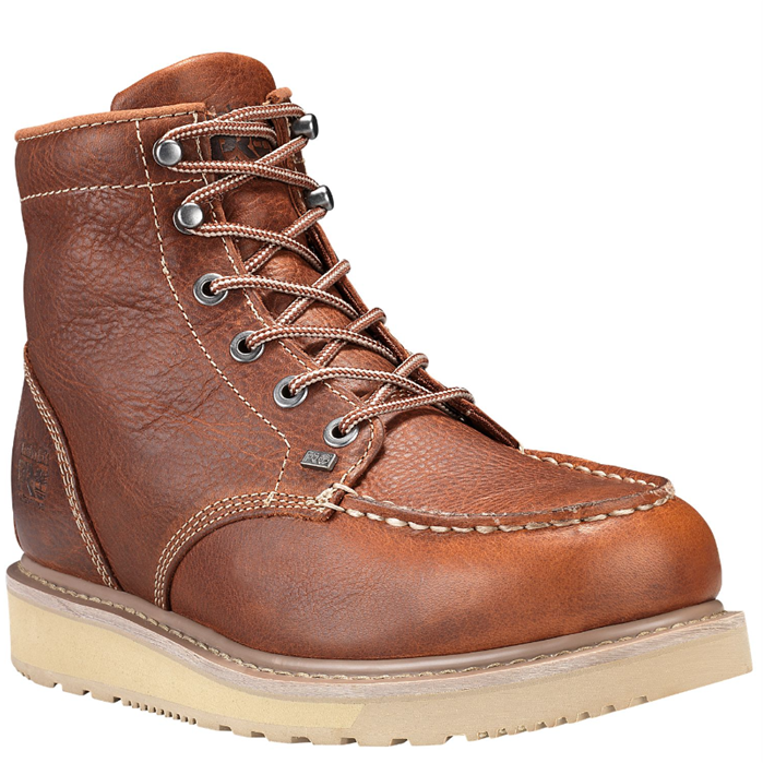 Timberland pro barstow wedge moc soft toe work boots