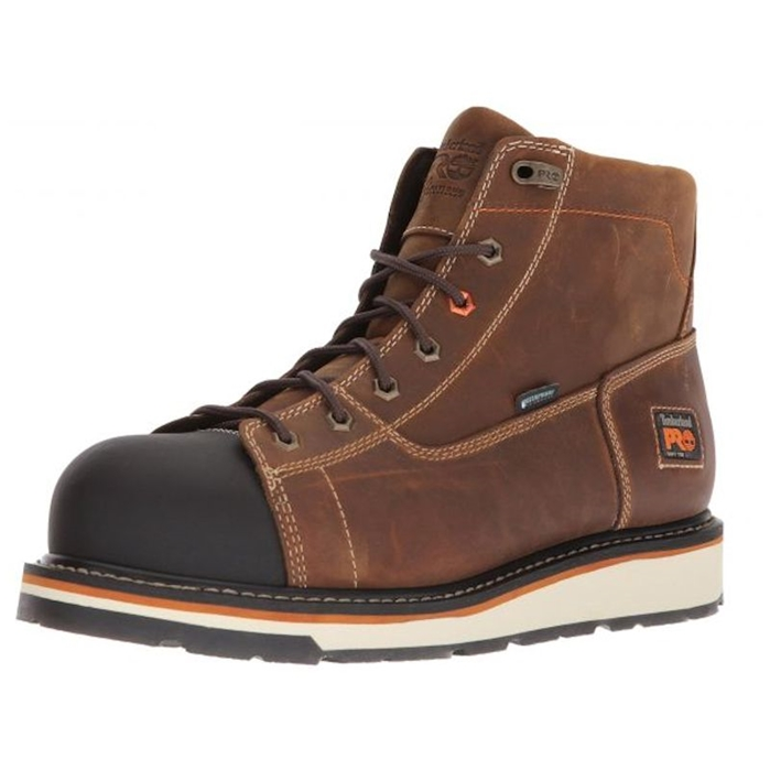 "Timberland PRO Gridworks 6"" WP Wedge Work Boot"