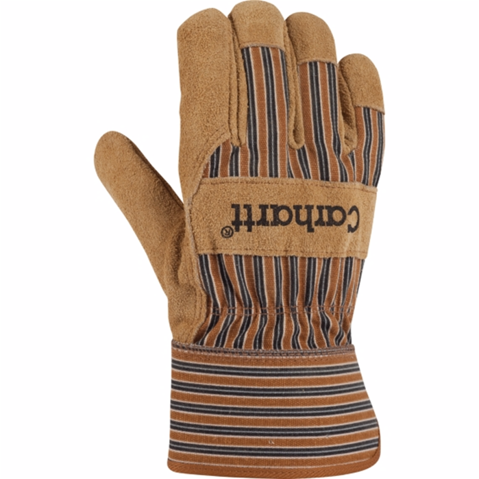 Insulated Suede Work Glove with Safety Cuff