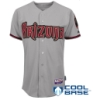 Arizona Dbacks Auth.Personalized Road Jersey