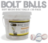 50 Pack Bolt Training Balls