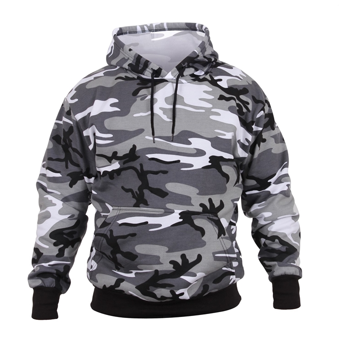 Rothco City Camo Pullover Hooded Sweatshirt