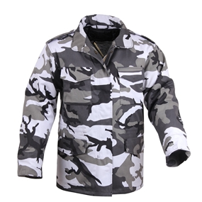 Rothco M-65 Camo Field Jacket [ City Camo ]