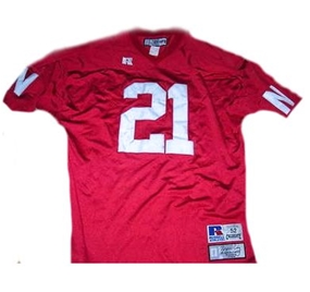 ROGER CRAIG #21 NEBRASKA HUSKERS Collegiate Throwback Jersey