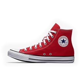 Converse Chuck Taylor All Star Hi Top in Red Shoes