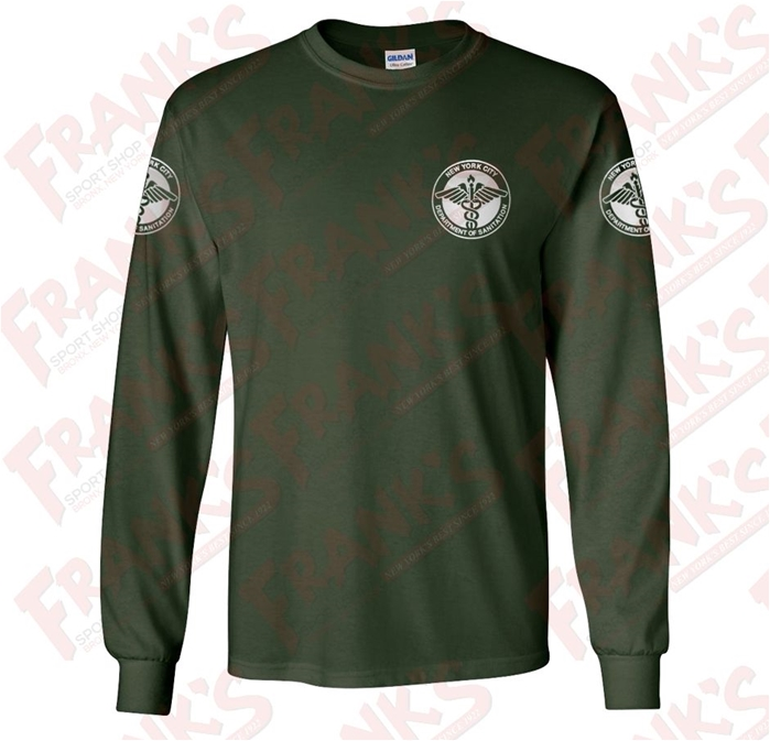 f05fe2a7cbee DSNY Sanitation Long Sleeve Work T-Shirt