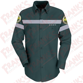 DSNY Sanitation Long Sleeve Work Shirt