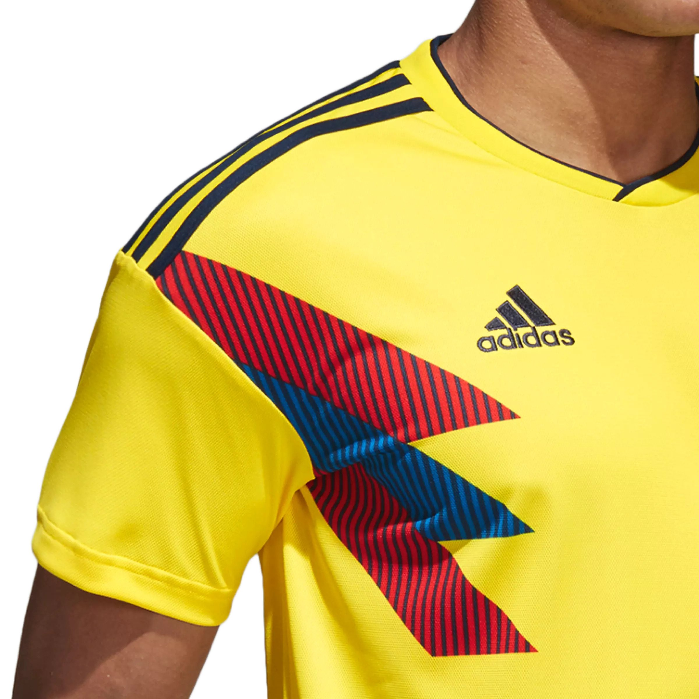 de483daae Adidas Colombia Home Replica Soccer Jersey. click on thumbnail to zoom
