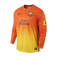 FC Barcelona Republica Long-Sleeve Away Jersey