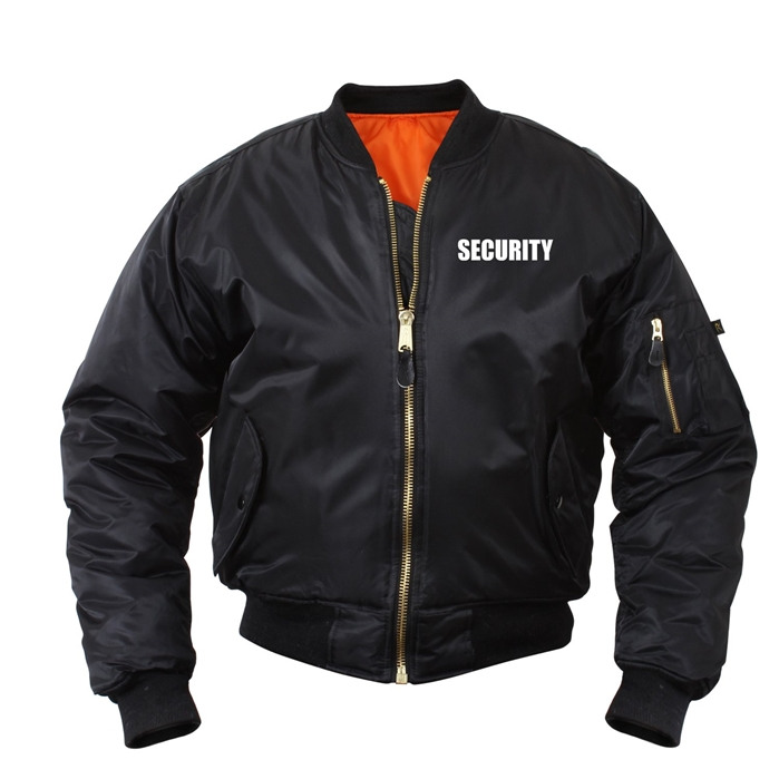 ROTHCO Security MA-1 Flight Jacket