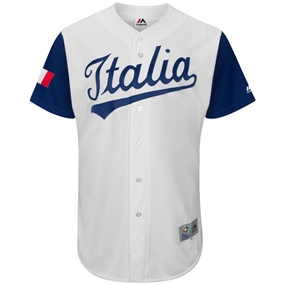 Majestic 2017 WBC Italy Replica Team Jersey