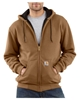 Hooded Zip-Front Sweatshirt