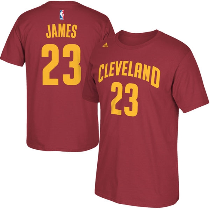 Adidas Cleveland Cavaliers LeBron James T-Shirt
