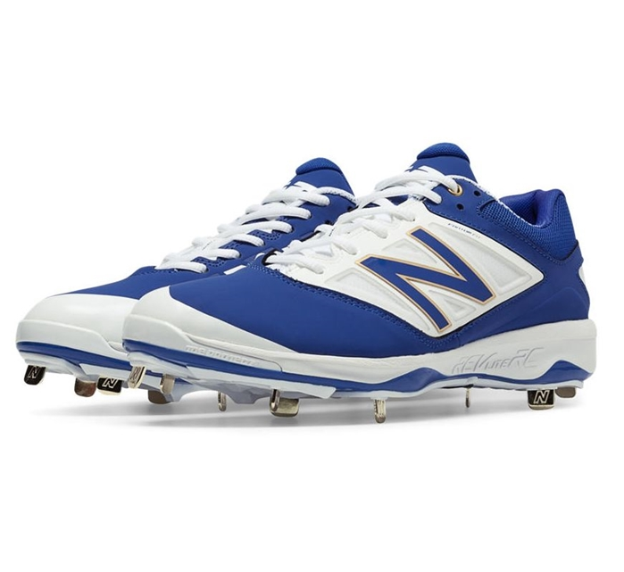 Royal Blue with White L4040AB3 Low-Cut Metal Cleat